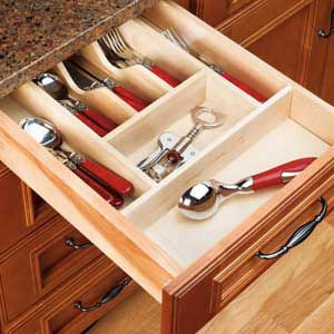 Add a cutlery organizer to your drawer